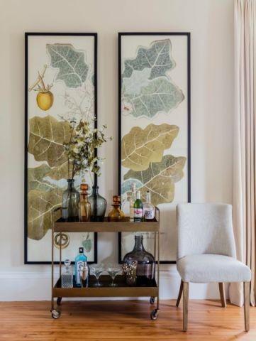 2019美式客厅装修设计 2019美式背景墙图片