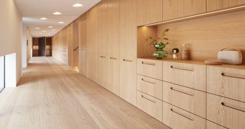北欧风格别墅199平米装修图片