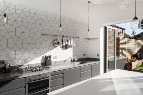 现代风格庭院122平米装饰设计图片