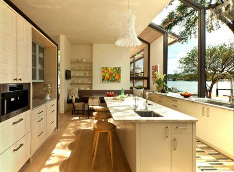 292平米庭院现代风格设计效果图