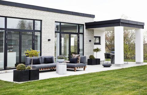 庭院234平米现代风格装潢实景图