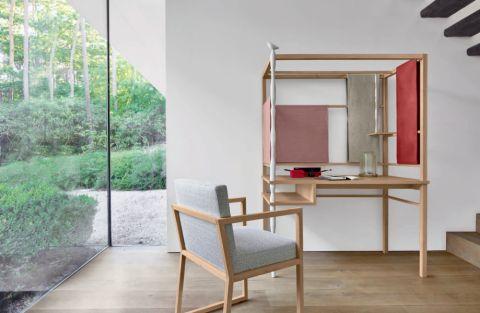 豪华现代白色落地窗设计图欣赏