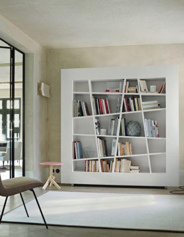 大气白色书房装修图片