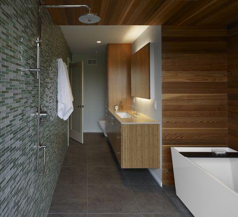 简约浴室走廊设计图欣赏