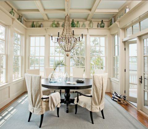 222平米别墅美式风格装潢实景图片