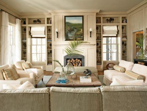 清新沙发装饰实景图片