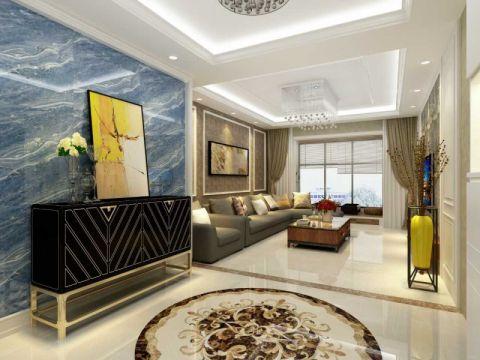 150平欧式大三居装修效果图