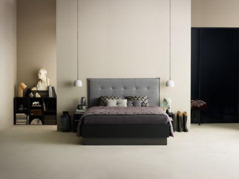 卧室现代风格效果图