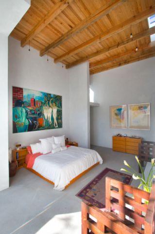 卧室吊顶现代风格装修效果图