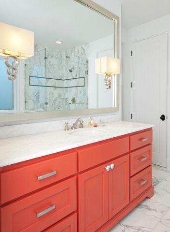 浴室洗漱台地中海风格装饰设计图片