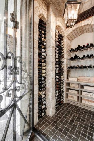 酒窖地砖地中海风格装潢设计图片