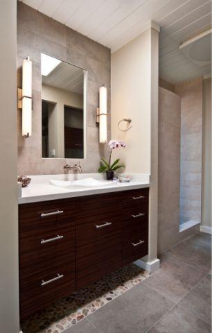 现代风格公寓107平米装修图片
