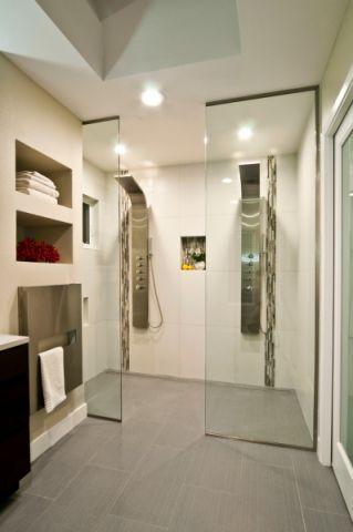 浴室地砖现代风格效果图