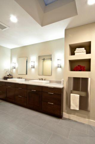 浴室地砖现代风格装饰效果图