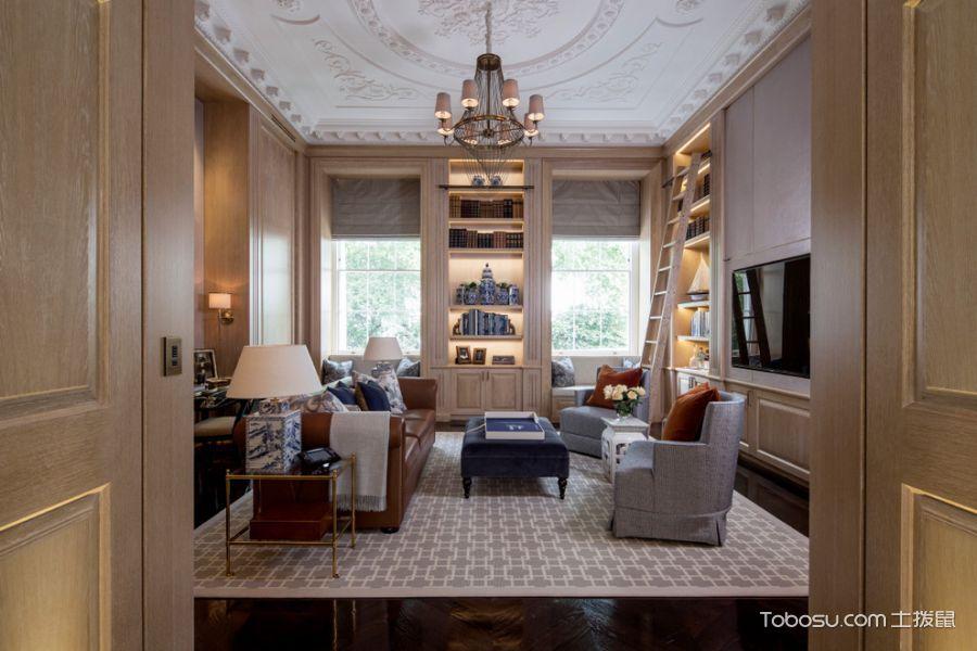 走廊美式风格效果图大全2017图片_土拨鼠简约纯净走廊美式风格装修设计效果图欣赏