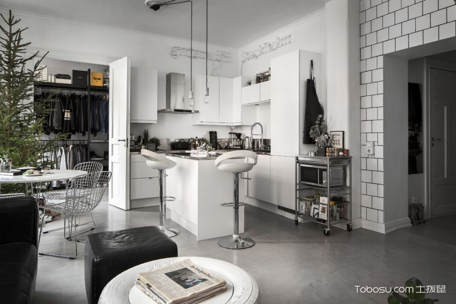 100~120m²/北欧/公寓装修设计