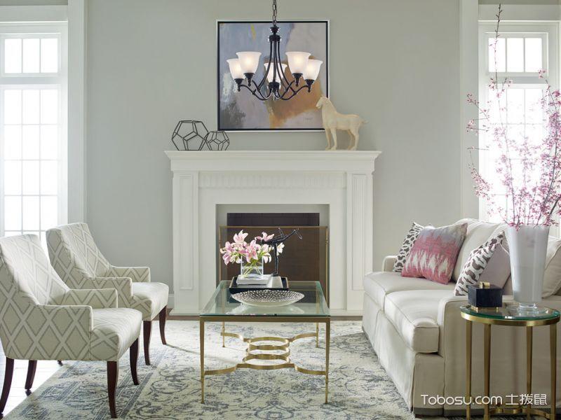 客厅混搭风格效果图大全2017图片_土拨鼠奢华迷人客厅混搭风格装修设计效果图欣赏