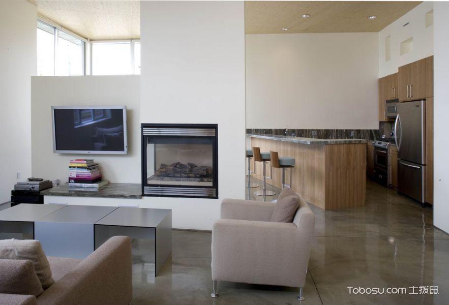 客厅现代风格效果图大全2017图片_土拨鼠浪漫温馨客厅现代风格装修设计效果图欣赏