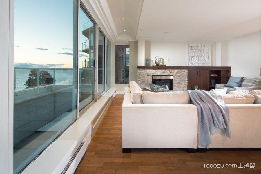 客厅现代风格效果图大全2017图片_土拨鼠休闲迷人客厅现代风格装修设计效果图欣赏