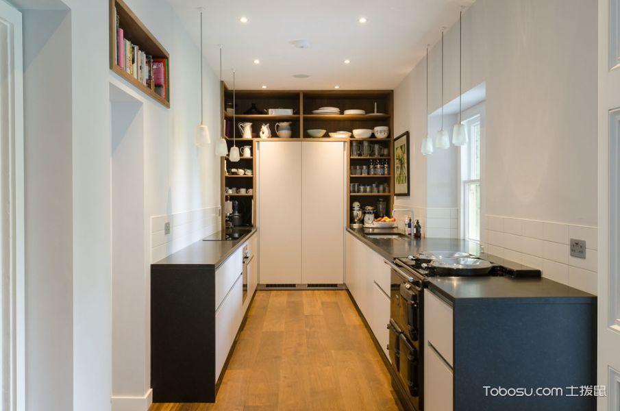 厨房现代风格效果图大全2017图片_土拨鼠奢华个性厨房现代风格装修设计效果图欣赏