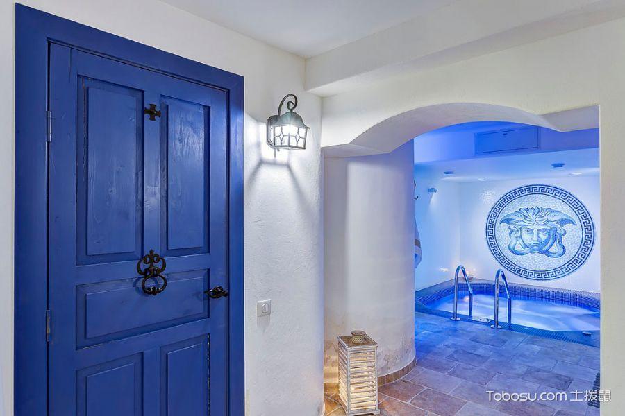 2018地中海地下室效果图 2018地中海泳池装修设计图片