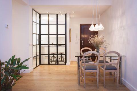 公寓103平米北欧风格装修图片