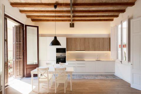 地中海风格庭院165平米装修图片