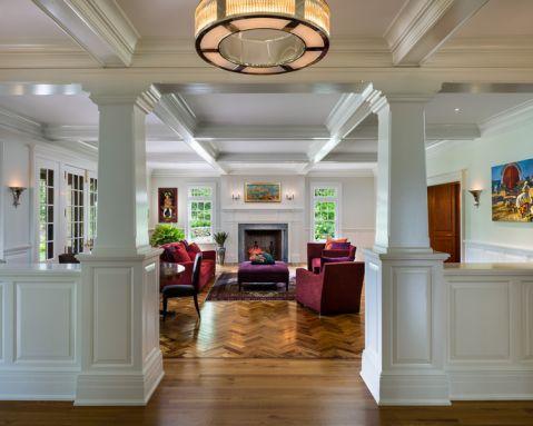 美式风格套房156平米装修图片