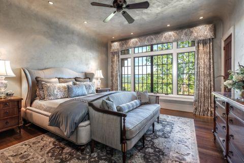 现代卧室装潢图