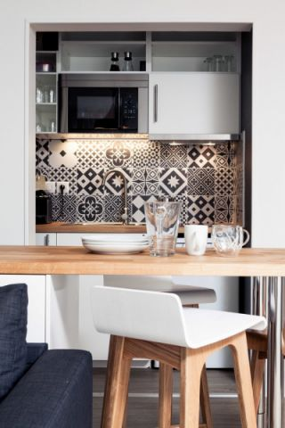2019北欧厨房装修图 2019北欧背景墙图片