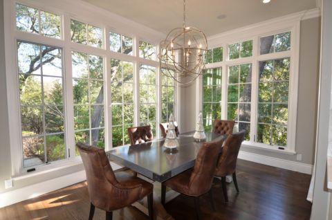 美式风格二居室153平米装饰设计图片