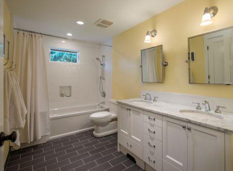 2019现代浴室设计图片 2019现代背景墙图片