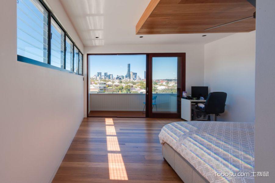 卧室现代风格效果图大全2017图片_土拨鼠完美纯净卧室现代风格装修设计效果图欣赏