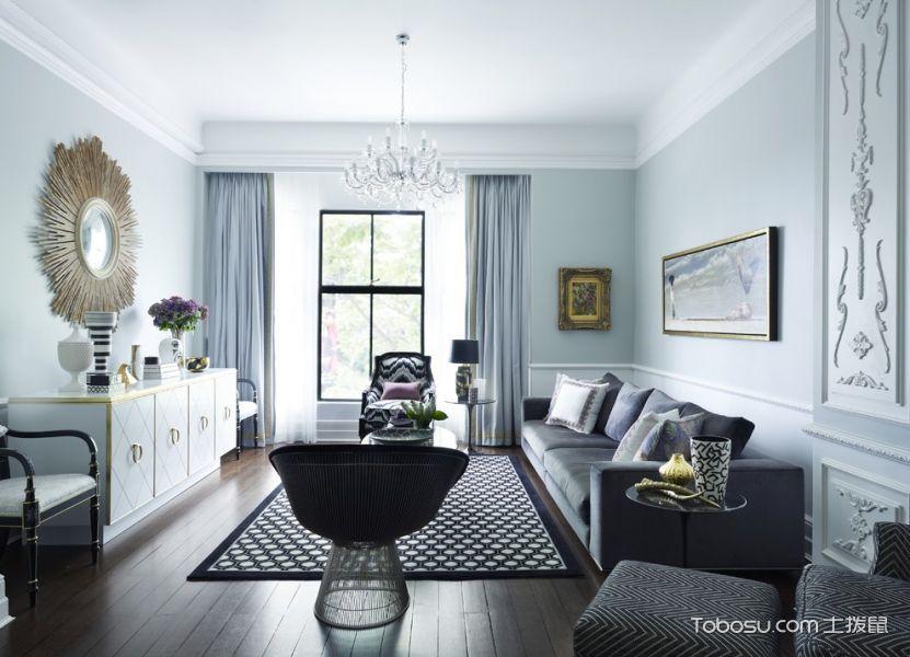 客厅现代风格效果图大全2017图片_土拨鼠奢华休闲客厅现代风格装修设计效果图欣赏