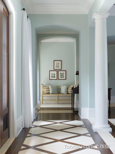卧室美式风格效果图大全2017图片_土拨鼠现代温馨卧室美式风格装修设计效果图欣赏