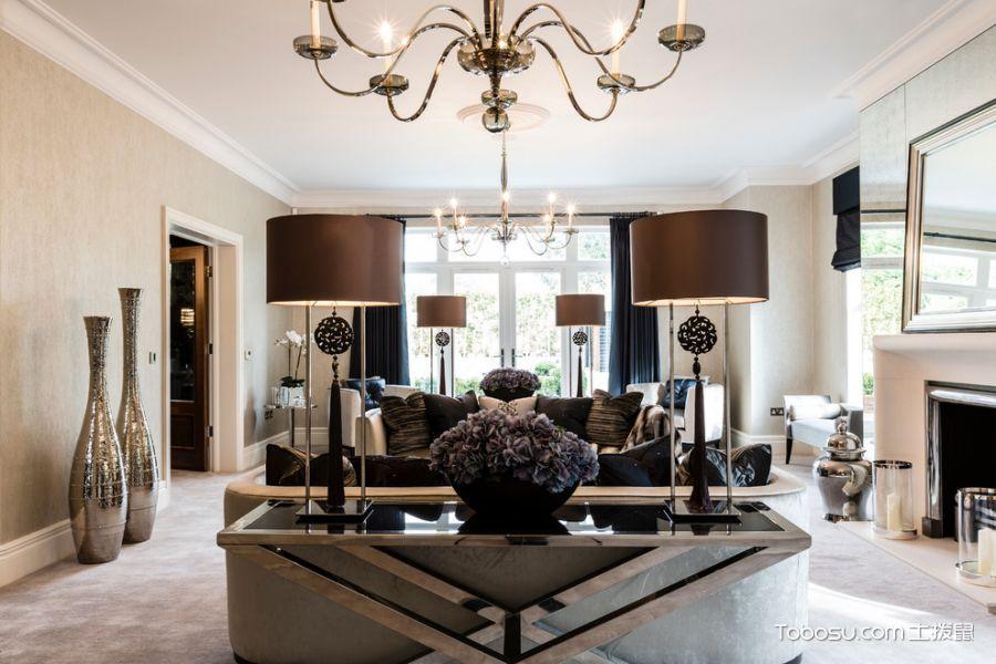 客厅现代风格效果图大全2017图片_土拨鼠美感清新客厅现代风格装修设计效果图欣赏