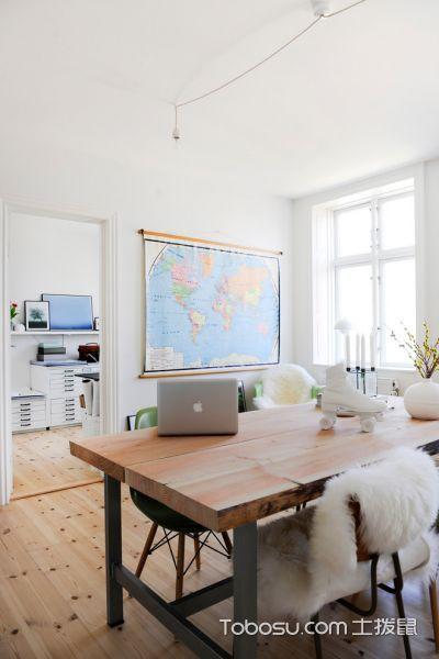 客厅北欧风格效果图大全2017图片_土拨鼠个性迷人客厅北欧风格装修设计效果图欣赏