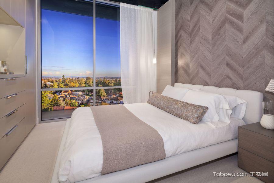 卧室现代风格效果图大全2017图片_土拨鼠美好时尚卧室现代风格装修设计效果图欣赏