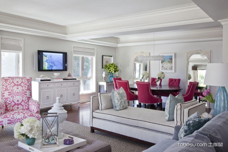 80~100m²/美式/一居室装修设计