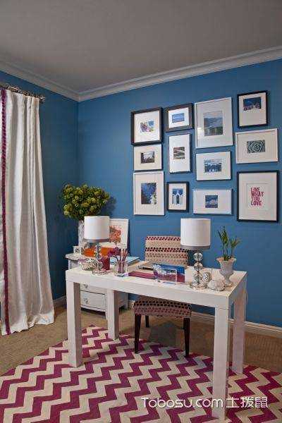客厅美式风格效果图大全2017图片_土拨鼠古朴质感客厅美式风格装修设计效果图欣赏