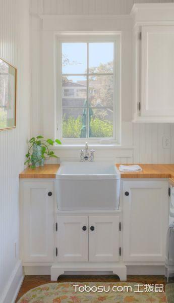 卫生间美式风格效果图大全2017图片_土拨鼠豪华迷人卫生间美式风格装修设计效果图欣赏