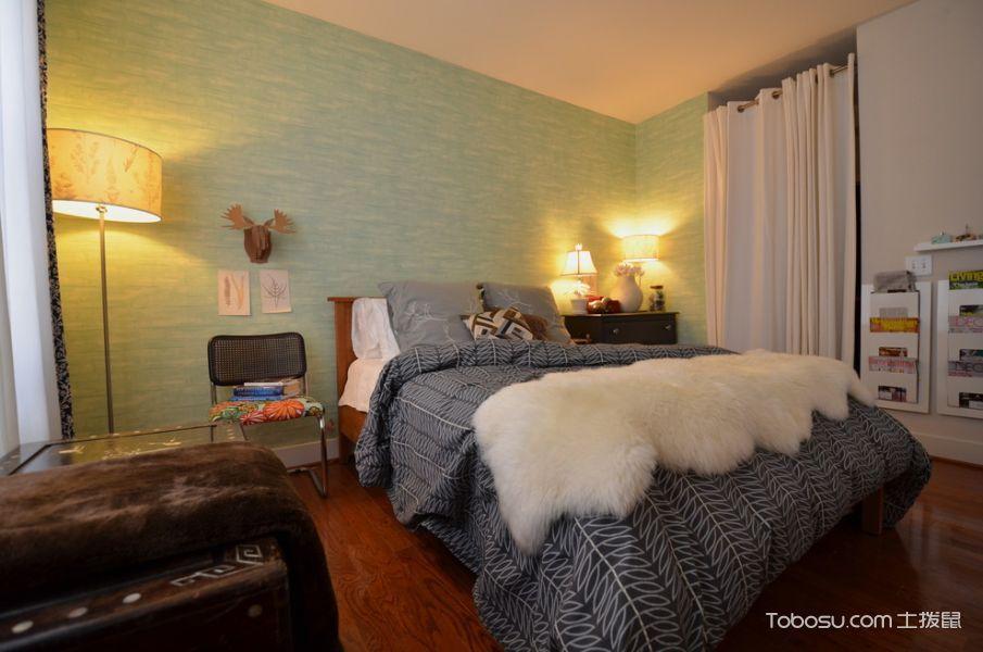 卧室现代风格效果图大全2017图片_土拨鼠极致质感卧室现代风格装修设计效果图欣赏
