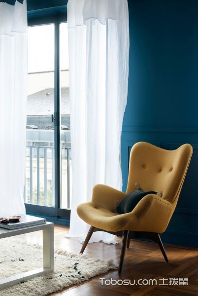 客厅混搭风格效果图大全2017图片_土拨鼠极致舒适客厅混搭风格装修设计效果图欣赏