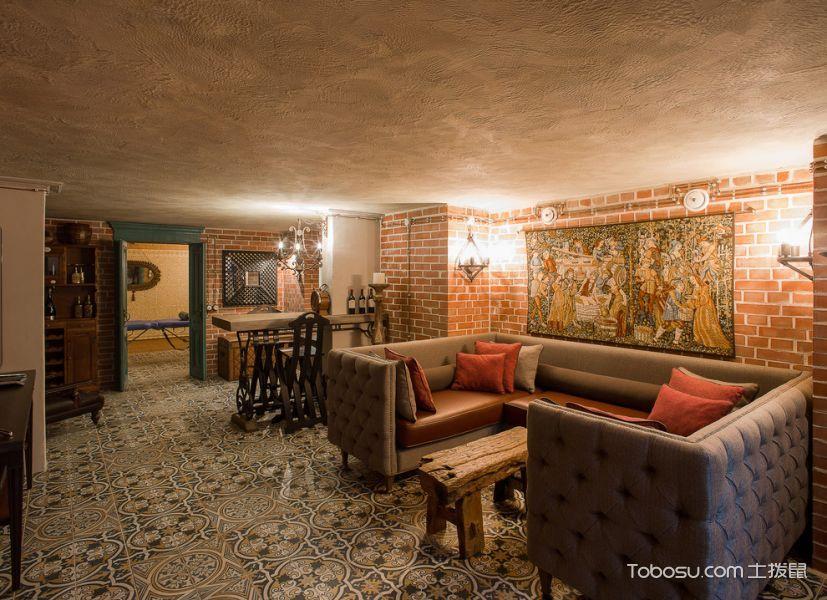 客厅现代风格效果图大全2017图片_土拨鼠古朴写意客厅现代风格装修设计效果图欣赏