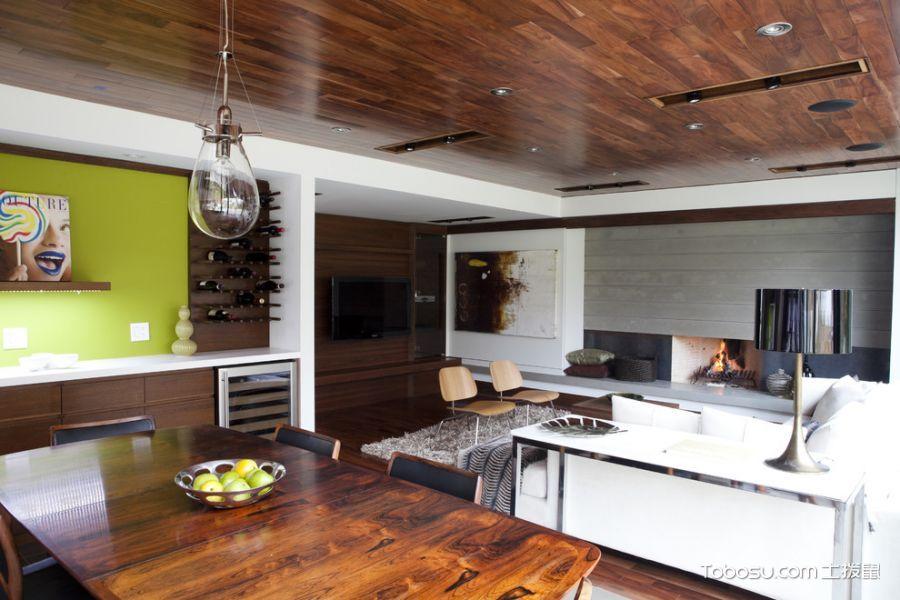 客厅现代风格效果图大全2017图片_土拨鼠干净舒适客厅现代风格装修设计效果图欣赏