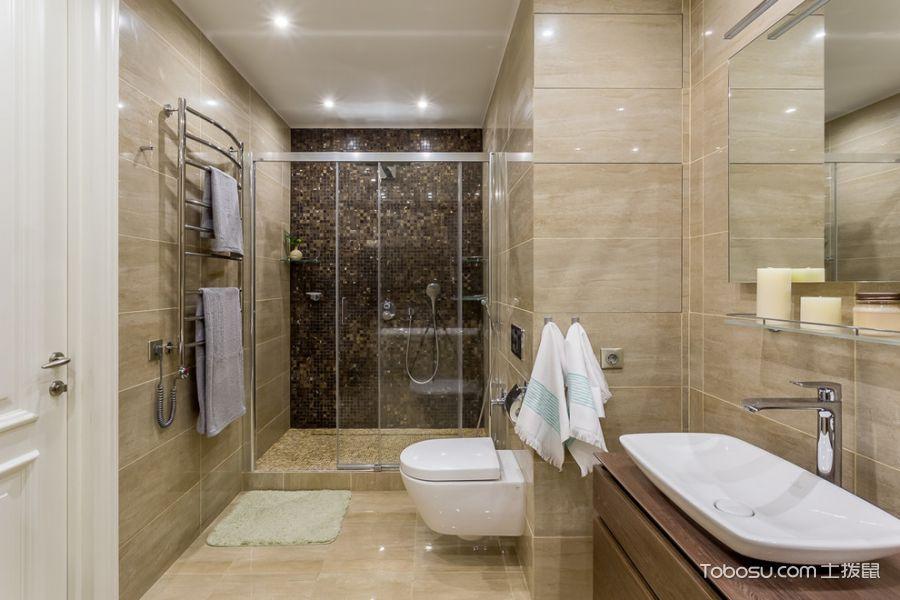 卫生间现代风格效果图大全2017图片_土拨鼠完美时尚卫生间现代风格装修设计效果图欣赏