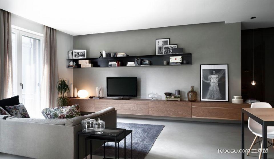 卧室现代风格效果图大全2017图片_土拨鼠典雅格调卧室现代风格装修设计效果图欣赏