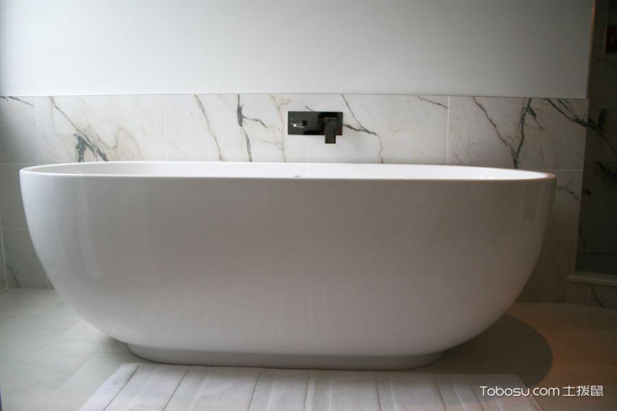浴室现代风格效果图大全2017图片_土拨鼠简约优雅浴室现代风格装修设计效果图欣赏
