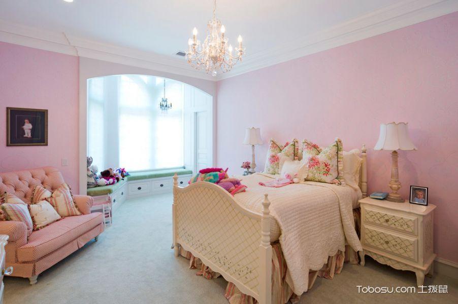 儿童房美式风格效果图大全2017图片_土拨鼠完美唯美儿童房美式风格装修设计效果图欣赏