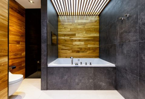 现代风格四居室114平米装修图片